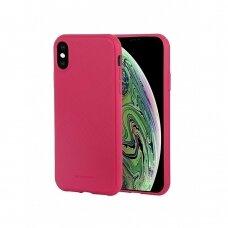 Dėklas Mercury Style Lux Apple iPhone XS Max koralo spalvos UCS059