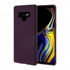 Dėklas Mercury Style Lux Samsung N960 Note 9 violetinisUCS022