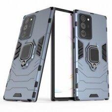 Dėklas Panther Samsung Note 20 Tamsiai Mėlynas