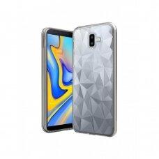 Dėklas Prism Samsung J610 J6 Plus 2018 Skaidrus