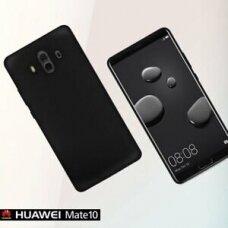 Dėklas Rubber TPU Huawei Mate 10 juodas UCS086
