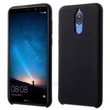 Dėklas Rubber Tpu Huawei Mate 10 Lite Juodas