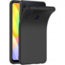 Dėklas Rubber Tpu Huawei Y6P Juodas