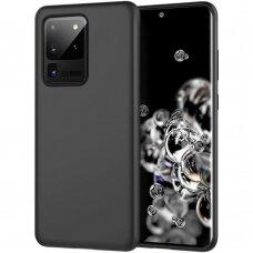 Dėklas Rubber Tpu Samsung G988 S20 Ultra/S11 Plus Juodas