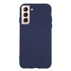 Dėklas Rubber TPU Samsung S21/S30 tamsiai mėlynas
