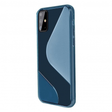 Dėklas S-Case Flexible skirta Samsung Galaxy A71 Mėlynas