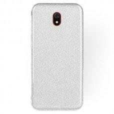 Dėklas Shine Xiaomi Redmi 8A sidabrinis UCS115