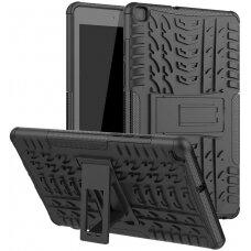 Dėklas Shock-Absorption Samsung T970/T976 Tab S7+ juodas