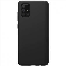 Dėklas Silicon Samsung A03s EU juodas