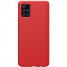 Dėklas Silicon Samsung A03s EU raudonas
