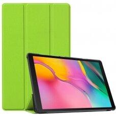 Dėklas Smart Leather Samsung P610/P615 Tab S6 Lite 10.4 šviesiai žalias
