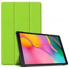 Dėklas Smart Leather Samsung T500/T505 Tab A7 10.4 2020 šviesiai žalias