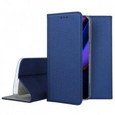Dėklas Smart Magnet Apple iPhone 11 Pro Max tamsiai mėlynas USC056