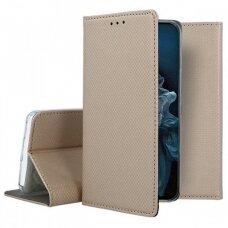 Dėklas Smart Magnet Huawei Nova 5T/Honor 20 auksinis UCS092