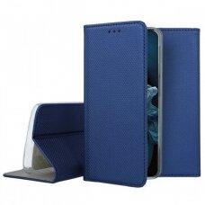 Dėklas Smart Magnet Huawei Nova 5T/Honor 20 Tamsiai Mėlynas