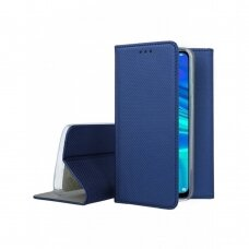 Dėklas Smart Magnet Huawei P Smart 2019/Honor 10 Lite tamsiai mėlynas UCS089