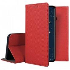 Dėklas Smart Magnet Huawei P30 Lite Raudonas