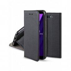 Dėklas Smart Magnet Huawei Y6 2018 Juodas