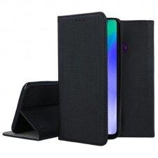 Dėklas Smart Magnet Huawei Y6P juodas UCS094