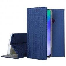 Dėklas Smart Magnet Huawei Y6P Tamsiai Mėlynas