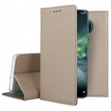 Dėklas Smart Magnet Nokia 6.2/7.2 Auksinis