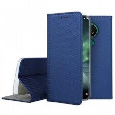 Dėklas Smart Magnet Nokia 6.2/7.2 Tamsiai Mėlynas