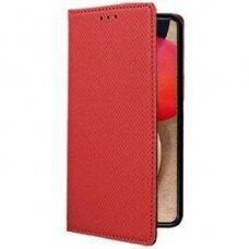 Dėklas Smart Magnet Samsung A02s raudonas