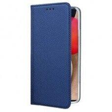 Dėklas Smart Magnet Samsung A02s tamsiai mėlynas