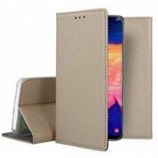 Dėklas Smart Magnet Samsung A125 A12 auksinis