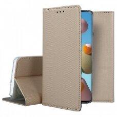 Dėklas Smart Magnet Samsung A21S Auksinis