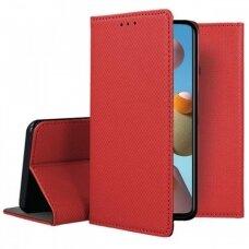 Dėklas Smart Magnet Samsung A21S Raudonas