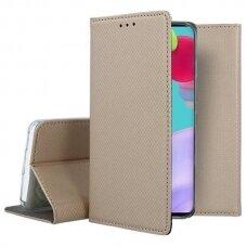 Dėklas Smart Magnet Samsung A31 Auksinis