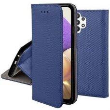 Dėklas Smart Magnet Samsung A32 5G tamsiai mėlynas