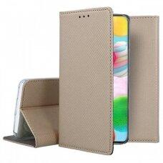 Dėklas Smart Magnet Samsung A41 Auksinis