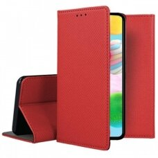 Dėklas Smart Magnet Samsung A41 Raudonas
