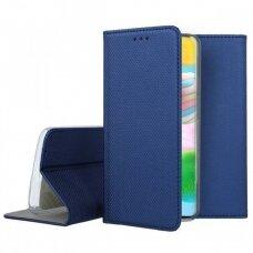 Dėklas Smart Magnet Samsung A41 Tamsiai Mėlynas