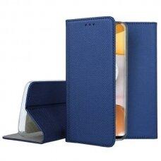 Dėklas Smart Magnet Samsung A426 A42 5G tamsiai mėlynas