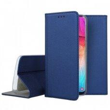 Dėklas Smart Magnet Samsung A505 A50/A507 A50s/A307 A30s tamsiai mėlynas UCS031