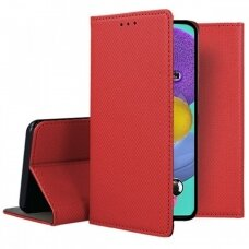 Dėklas Smart Magnet Samsung A515 A51 Raudonas