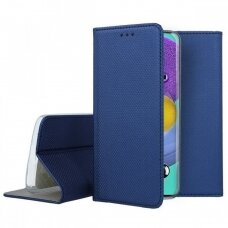 Dėklas Smart Magnet Samsung A515 A51 Tamsiai Mėlynas