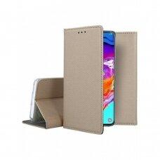 Dėklas Smart Magnet Samsung A705 A70 auksinis UCS030