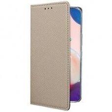 Dėklas Smart Magnet Samsung A726 A72 5G auksinis