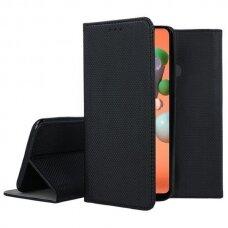 Dėklas Smart Magnet Samsung G920 S6 Juodas