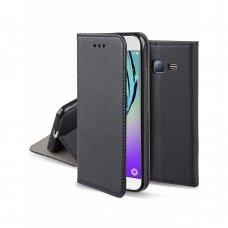 Dėklas Smart Magnet Samsung J320 J3 2016 juodas UCS054