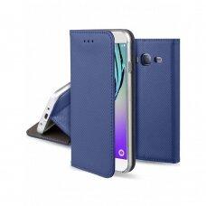 Dėklas Smart Magnet Samsung J320 J3 2016 tamsiai mėlynas UCS054