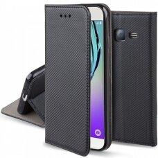 Dėklas Smart Magnet Samsung J510 J5 2016 Juodas
