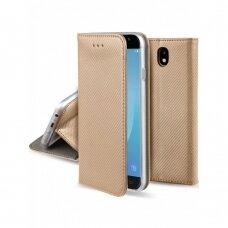 Dėklas Smart Magnet Samsung J530 J5 2017 Aukso Spalvos