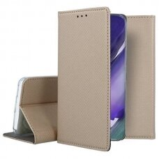 Dėklas Smart Magnet Samsung Note 20 Auksinis
