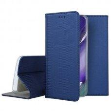 Dėklas Smart Magnet Samsung Note 20 tamsiai mėlynas