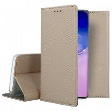 Dėklas Smart Magnet Samsung S10 Lite/A91 Auksinis